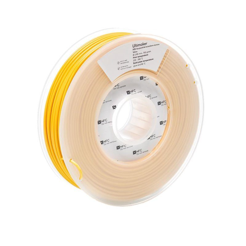 Ultimaker ABS, Farbe: Yellow