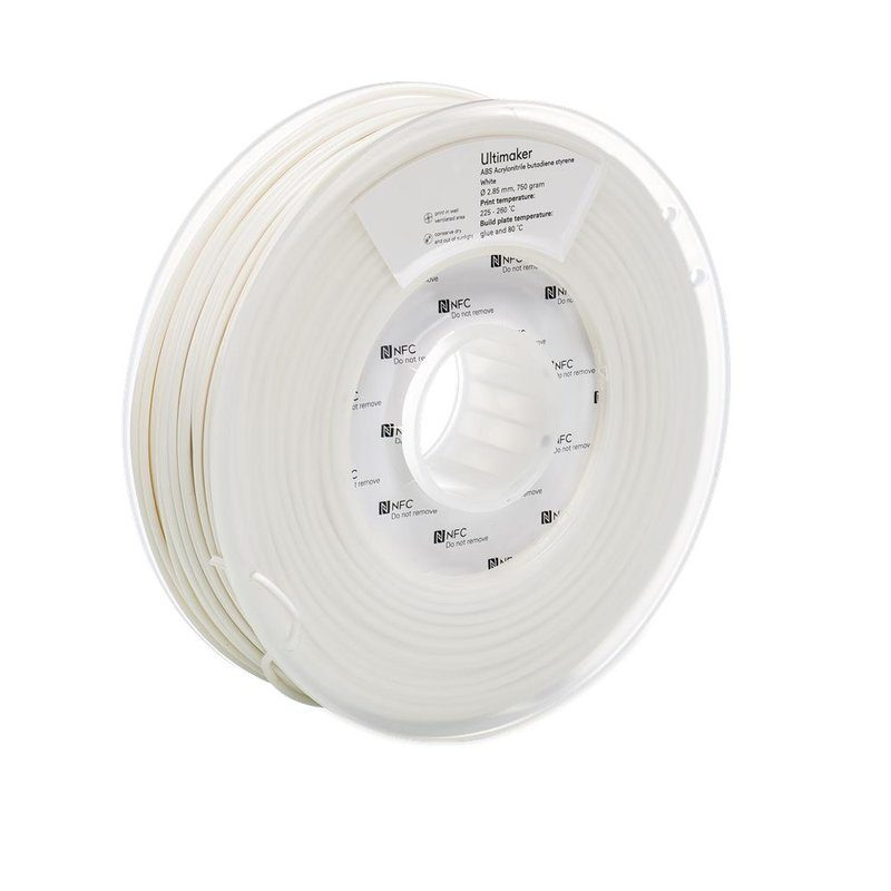 Ultimaker ABS, Farbe: White