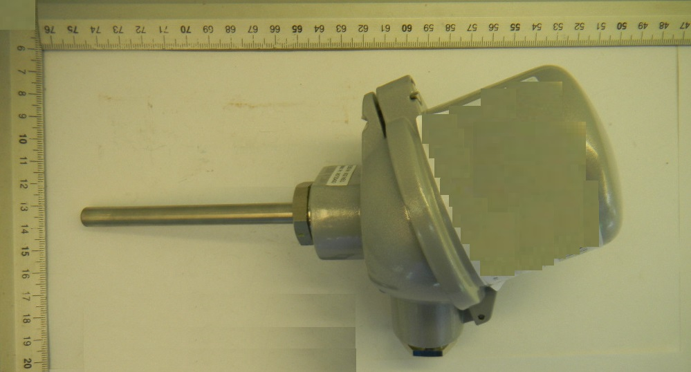 Widerstandsthermometer 2xPT100   0-400°C