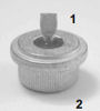 Silicon Power Rectifier Diode, 400 V, 35 A, BYY58-400