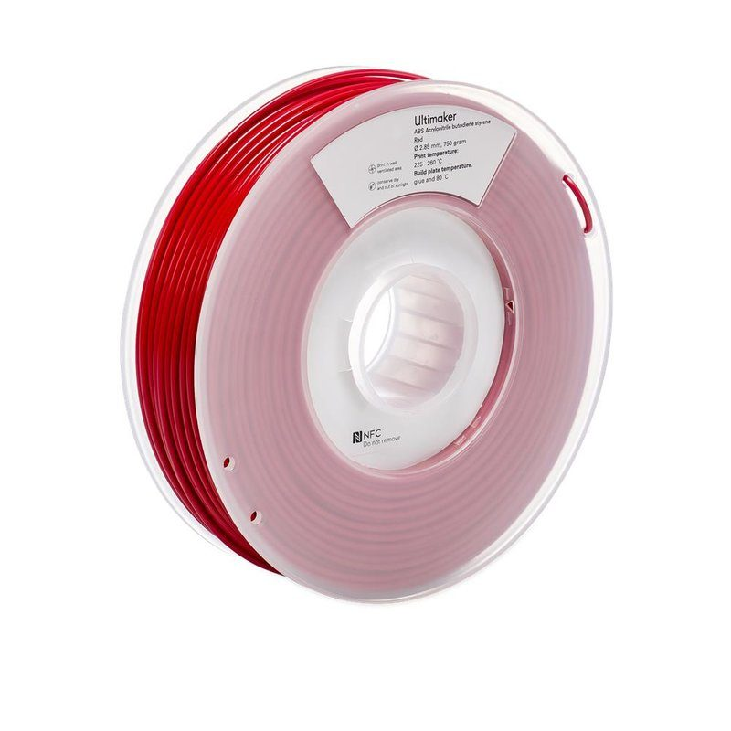 Ultimaker ABS, Farbe: Red